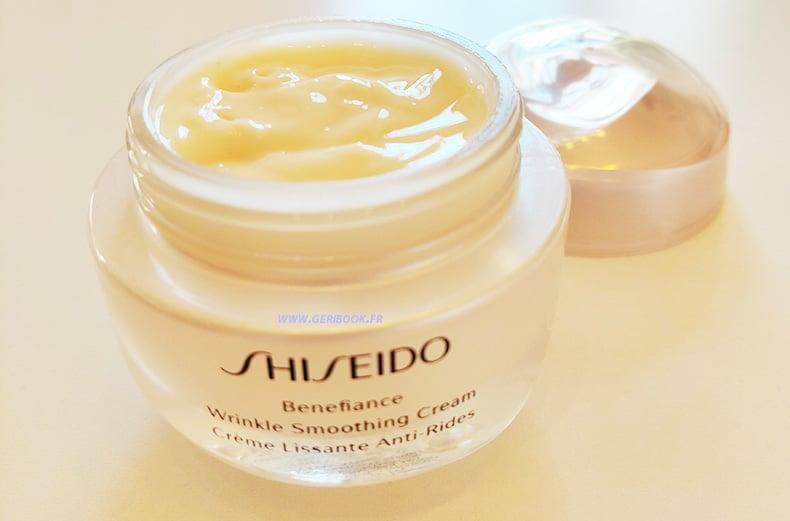 Crème Lissante Anti-Rides Benefiance Shiseido