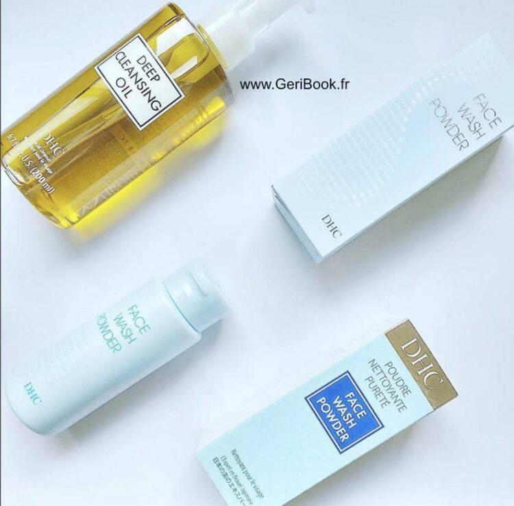 avis DHC poudre nettoyante purete face wash powder
