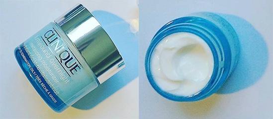 test cosmetique visage turnaround clinique nuit soin