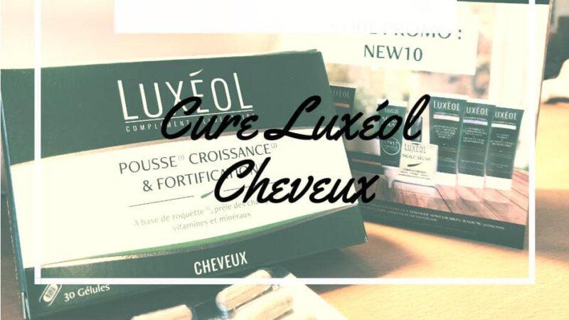 Quel avis sur Luxeol ? cure cheveux pousse croissance fortification