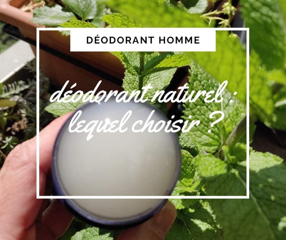 deodorant naturel deo homme horace Schmidt