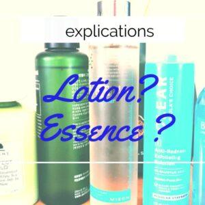 Différence entre lotion et essence visage? Comment utiliser une essence de beauté ?