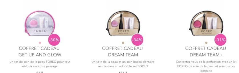 foreo code promo reduction balckfriday