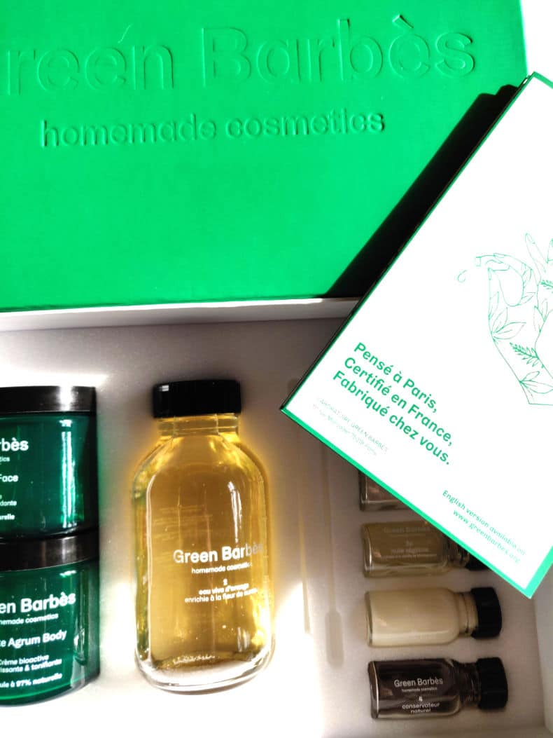 green barbes cosmetique maison naturel