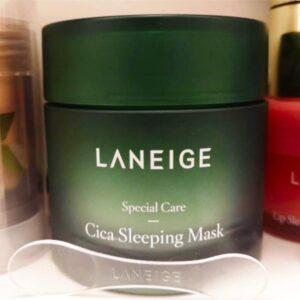 quel avis sur LANEIGE cica sleeping mask crème de nuit hydratante ?