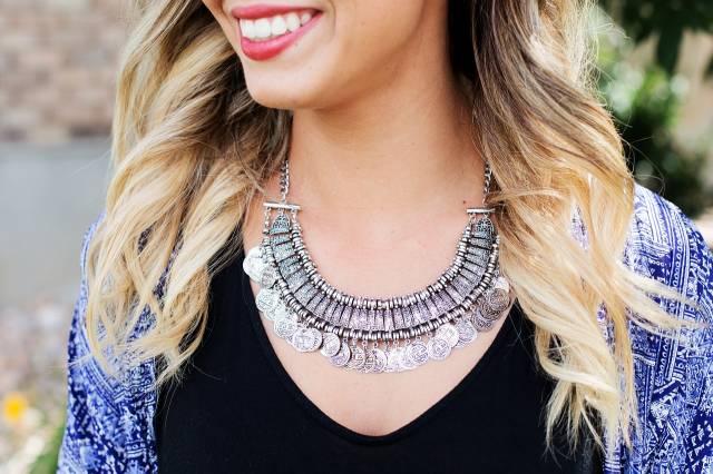 bijoux trends naturel féminin pierre