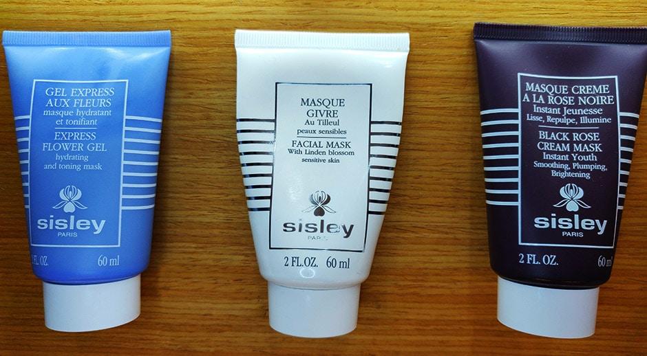 avis sur 3 masques visage SISLEY : Rose Noire, Tilleul, Fleurs