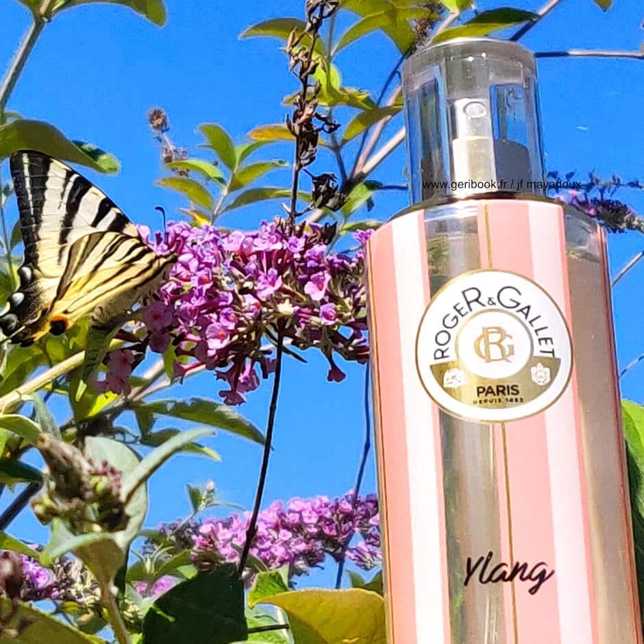 roger gallet parfum Ylang - eau parfumée - blog geribook